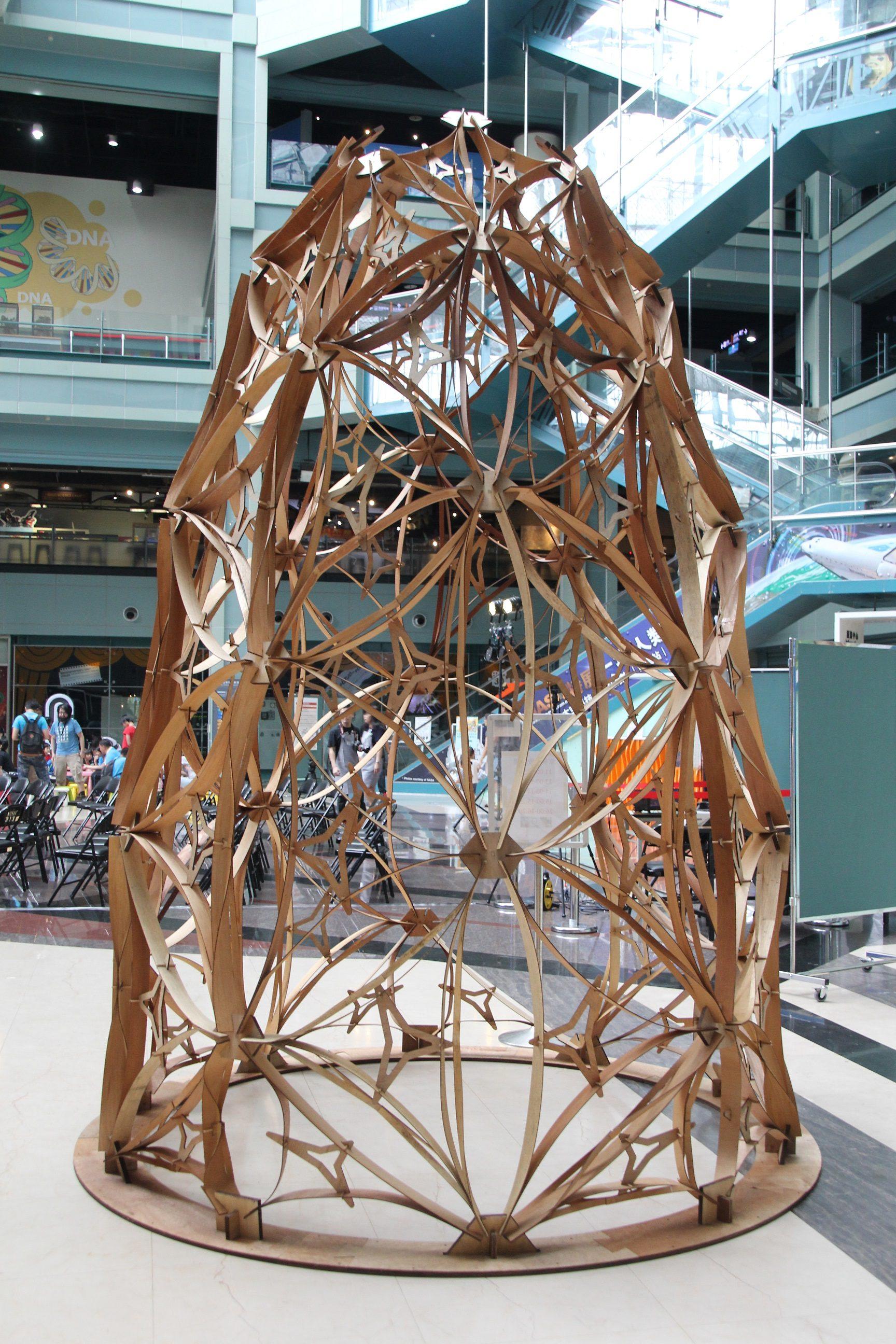 米開朗基羅的概念空間展出黃凱祺的作品