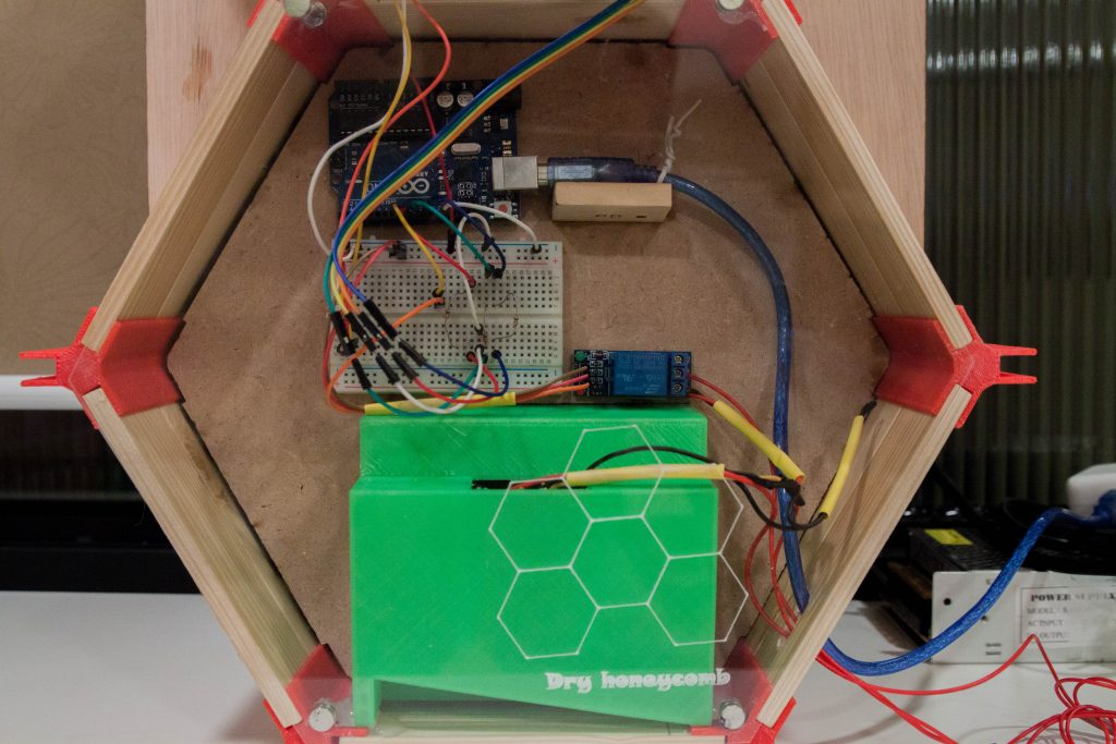 Dry honeycomb運作核心系統