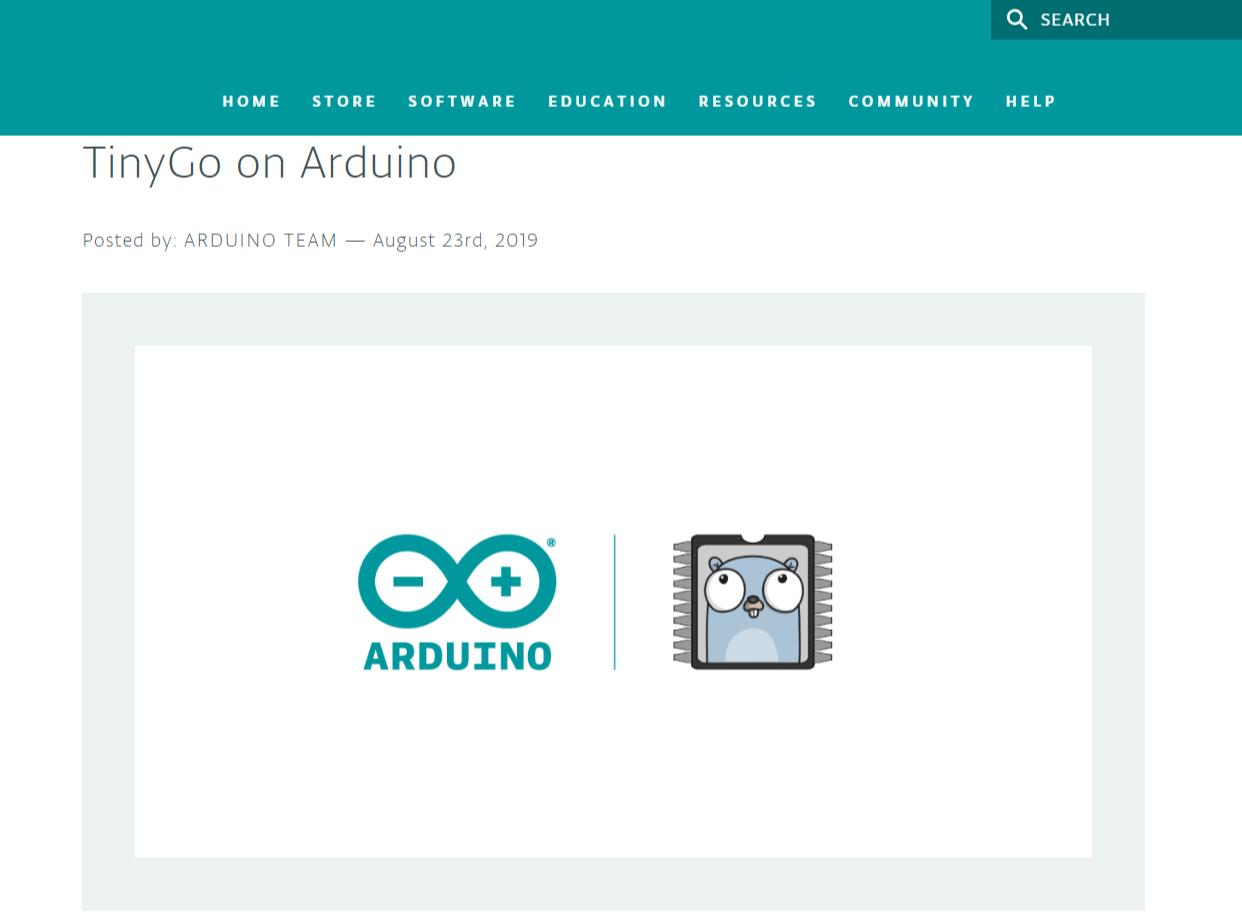 翻攝自Arduino.cc網站